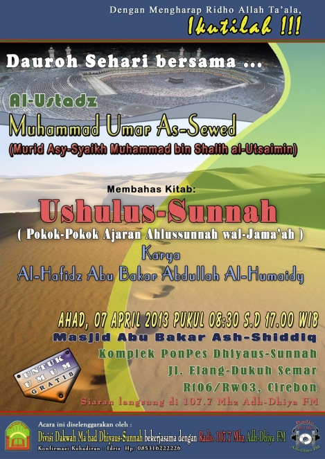 A4 dauroh Cirebon 07-04-13